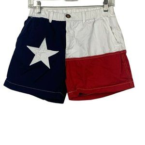 Chubbies Men's Texas Flag Lone Star Shorts Size S